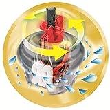 Vileda Premium 5 Komplett-Set, extra breiter Bodenwischer und Eimer mit Powerschleuder - 9