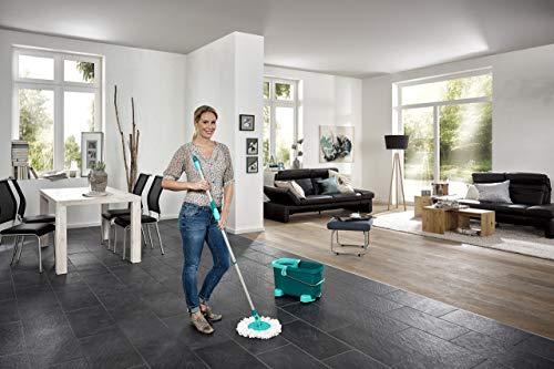 Leifheit 52052 Set Clean Twist Mop mit Rollwagen (ohne Spritschutz) - 2