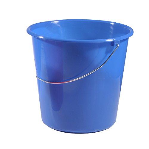 10 Liter Putzeimer mit Skala Eimer Kunststoff Wassereimer Wischeimer Scheuereimer (5-10Liter)
