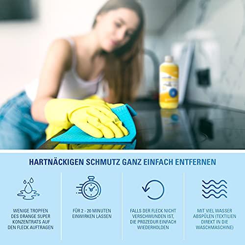 Maxxi Clean Orangenreiniger Konzentrat Reinigungsmittel 500 ml – Universalreiniger als Glasreiniger, WC Reiniger, Badreiniger und Küchenreiniger für Haushalt und Industrie – extra stark - 3