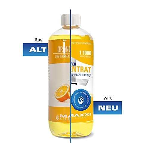 Maxxi Clean Orangenreiniger Konzentrat Reinigungsmittel 500 ml – Universalreiniger als Glasreiniger, WC Reiniger, Badreiniger und Küchenreiniger für Haushalt und Industrie – extra stark - 7