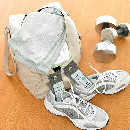 Apalus® Schuh-Erfrischer | Luftreiniger Beutel Aus Bambus Aktivkohle, Der Natürliche Lufterfrischer & Raumerfrischer Ist der perfekte Geruchsneutralisierer für Schuhe, Schrank und Sporttasche - 6