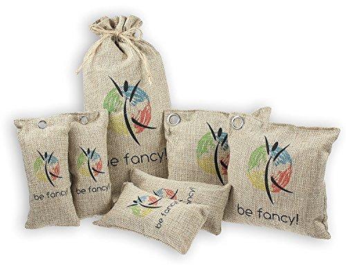 be fancy! ♻ 2x 200g Nachhaltiger Bambus Aktivkohle Luftreiniger, Lufterfrischer und Luftentfeuchter im Set – 2 Jahre verwendbar, frei von Chemie und Schadstoffen - 7