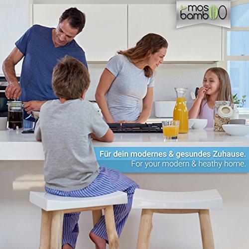 Lufterfrischer »cleanAir 250g« aus Bambus Aktivkohle | Natürlicher Geruchsentferner, Raumerfrischer & Luftentfeuchter | Geruchsneutralisierer & Luftreiniger Beutel für Auto, Küche, Bad, Schlafzimmer, Kleider-Schrank, Kühlschrank | Gegen Geruch ohne Duftstoffe oder Chemie | Biologischer Geruchskiller | Alternative zu Raumduft, Granulat- oder Ozon-Reiniger gegen Schimmel-Sporen, Pilze, Bakterien & Formaldehyd - 7
