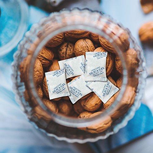 Lapurete 's ® 10 Gramm 25 Stück Silicagel Pakete Trockenmittel Luftentfeuchter (regenerierbar) - 5